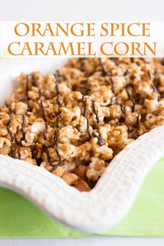... spice caramel corn make this unique caramel corn with the wonderful