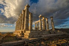 The Temple of Poseidon Cape Sounio Greece