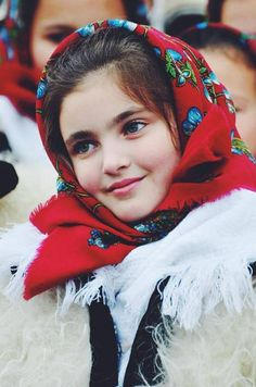 Little Romanian girl. More reasons to visit Romania here: www.facebook.com/...