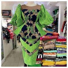 African Dresses For Kids, African Wear Dresses, Latest African Fashion Dresses, African Print Fashion, Africa Fashion, African Attire, African Print Dress Designs, Ankara Designs, African Design