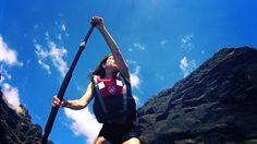 Natalia Stand up paddling in Los Gigantes, Tenerife, Spain #sup #tenerife #paddlesurf #standuppaddling #supisland