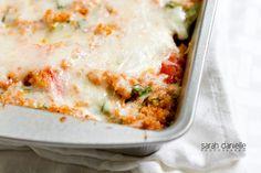 quinoa-spinach-bake