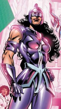 The inhumanly powerful Power Princess, named Zarda, is a superhero who has been a member of both Squadron Supreme and the Exiles.