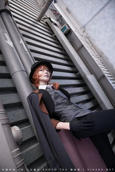 Chuuya Nakahara - Bungou Stray Dogs - COSPLAY IS BAEEE!!! Tap the pin now to grab yourself some BAE Cosplay leggings and shirts! From super hero fitness leggings, super hero fitness shirts, and so much more that wil make you say YASSS!!!