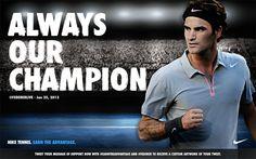 Nuff said! Twitter / FedererLive