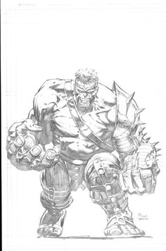 Hulk by David Finch