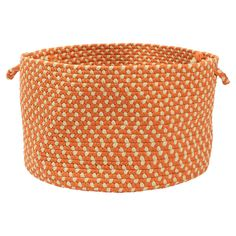 Montego Basket in Tangerine