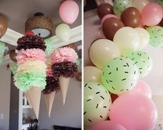 Aylah's Ice Cream Birthday Party | Moments on the Blog