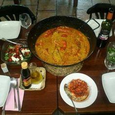 #Restaurante La Pimienta Rosa, arroces de 10 en #Benicàssim
