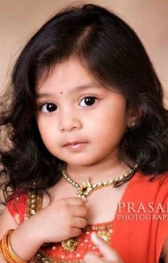 Little princess of India