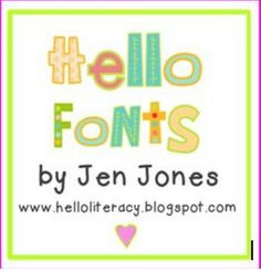 Free on TpT 2nd Grade: Free Fonts