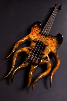 Custom Flame Bass