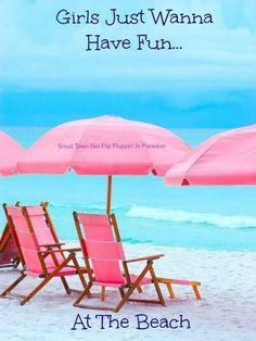Just wanna have fun at the beach