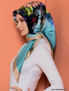 Armine at HijabPlanet : The Hijab Store with Free x X inches)Designed & Made in Turkey Turkish Hijab Tutorial, Pashmina Hijab Tutorial, Hijab Style Tutorial, Iranian Women Fashion, Turkish Fashion, Muslim Fashion, Hijab Fashion, Turkish Hijab Style, Hijab Wedding Dresses