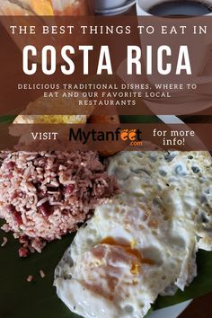 Delicious Costa Rican Food and Dishes You Have to Try Costa Rica With Kids, Living In Costa Rica, Travel Advice, Travel Guides, Travel Tips, Costa Rican Food, Costa Rica Travel, Fun Activities, Food To Make