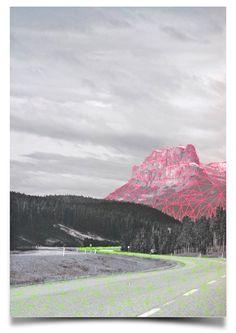 Artwork Roads from artist #Hagarvardimon in collection of www.studiodewinkel.nl