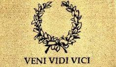 Image result for veni vidi vici