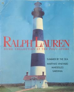Home Collection at the Polo Store | Ralph Lauren | April 1994 | Martha's Vineyard