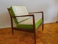 Mid Century Lounge Chair by Folke Ohlsson for DUX by FindFurnish, $720.00