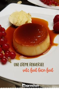 creme-renversee-vite-faite/ - The world's most private search engine Custard Recipes, Caramel Recipes, What To Cook, Meal Planning, Food To Make, Deserts, Dessert Recipes, Food And Drink, Snacks