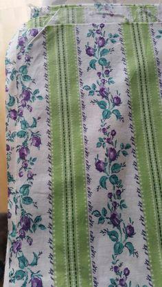 Vintage cotton remnant 80cm x 80cm