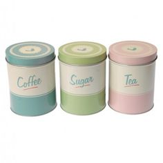Pantry Kitchen Canisters (set of 3)