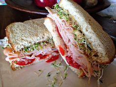 Turkey Sprout Sandwich - www.TheBarnyardBistro.com