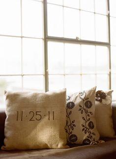 Wedding cushion ideas