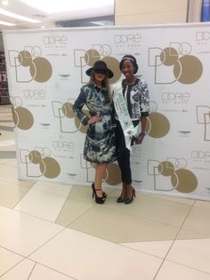 D'ore Mystery Lady with Miss Earth SA Finalist Mystery, Product Launch, Earth, Lady, Coat, Fashion, Moda, Sewing Coat, Fashion Styles