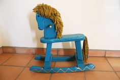 Rocking Horse Restoration from Chicks Who Give A Hoot