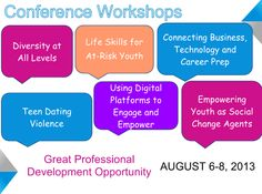 Learn about the #APYDCON 2013 Workshops!