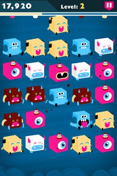 3 Characters, Monster Characters, Character Art, Character Design, Match 3 Games, Game Gui, Puzzle Games, Monster Design, Best Iphone
