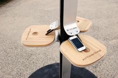 AT&T Tests Public Phone Charging Stations