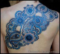 Blue mandala...