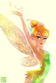 Tinker Bell by ~E-X-P-I-E on deviantART