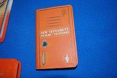 Image result for holy bible mini orange locker cool