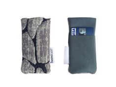 Cairn mobile-sleeve - fits iphone 3, 4 & 5 - grey/black
