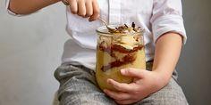 Confiture de bananes au chocolat Biscuits, Gluten Free Treats, Pudding, Breakfast, Desserts, Food, Stockholm, Euro, Icons