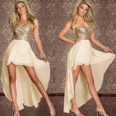 vestidos curto na frente e longo atrás - Pesquisa Google