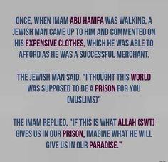 Islamic Teachings, Islamic Quotes, Arabic Quotes, Abu Hanifa, Prophet Muhammad Quotes, Jewish Men, Learn Islam, Islam Facts, Islam Quran