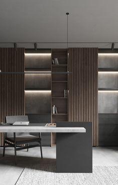 IRIDIUM on Behance Corporate Interior Design, Modern Office Design, Corporate Interiors, Luxury Interior Design, Office Interiors, Office Cabinet Design, Office Furniture Design, Cl Design, Modern Home Offices