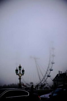 "Foggy ""Eye"" in London."