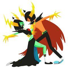 """heiden-01: """"도미네이터와 로드완더 댄스댄스 둘은 잘 통하거나 서로 엄청 싫어하거나 둘 중 하나겠지 """""""