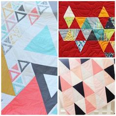 Triangle Quilt Along: Week 1 | Mouse in my Pocket