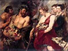 """medievalpoc: """" Peter Paul Rubens Diana Returning From the Hunt Netherlands (c. Oil on Canvas, 184 x 136 cm. Gemäldegalerie Alte Meister An interesting note: The Black man carrying fruit in this painting is probably based on this study of a man. Peter Paul Rubens, Michael Angelo, Oil Painting On Canvas, Canvas Art Prints, Rubens Paintings, Oil Paintings, Pierre Paul, Baroque Art, Oil Painting Reproductions"""