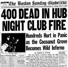 The Cocoanut Grove Revisited Boston Usa, South Boston, Coconut Grove Fire, Last Rites, Catholic Priest, Past Tense, National Archives, Native American History, History Books