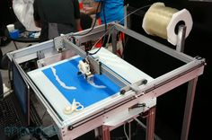 Gigabot is a huge consumer 3D printer awaiting your Kickstarter dollars (video). Maybe people?