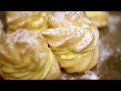 Wer Brandteig mag und noch mit Vanillefüllung wird dieses Rezept lieben!!!! Mit dem luftigen Teig und der herzhaft cremigen Vanillefüllung trifftdieser kleine Krapfen jede Geschmacksknospe:))) Ich…