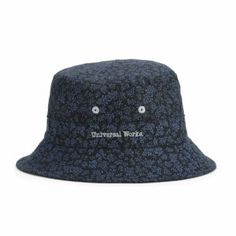 a7e570bace9 Universal Works Men s Bucket Hat - Navy