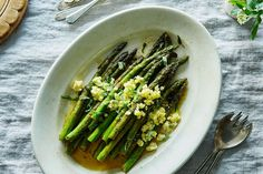 Pan-Roasted Asparagu